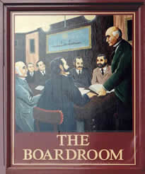 Inn Sign Society - The Board Room - Manchester